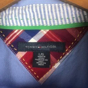 Tommy Hilfiger Tops - TOMMY HILFIGER 3/4 Button Front Long Sleeve Blouse